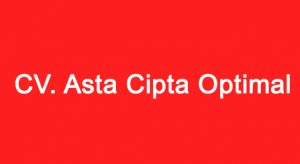 CV. Asta Cipta Optimal