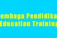 Lembaga Pendidikan Education Training Cirebon