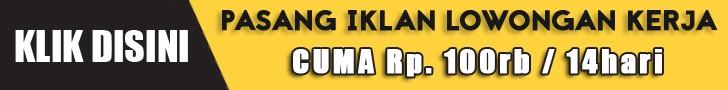 SD SMP SMA-SMK D3 S1 Walk In Interview Pasang Iklan Loker