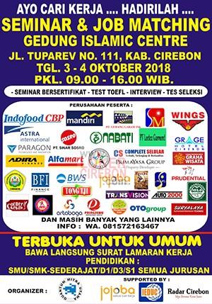 Bursa kerja Cirebon 2018
