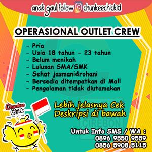 Buka Loker untuk di Tempatkan di Mall Cirebon