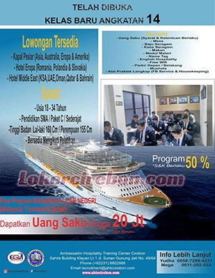 Ambassador Hospitality Training Center Cirebon