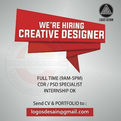 Lowongan kerja Creative Designer di Cirebon