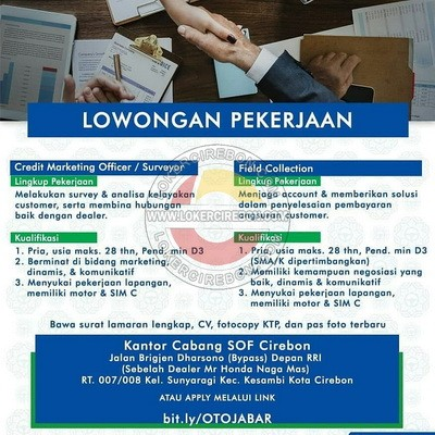 PT Summit Oto Finance cabang Cirebon