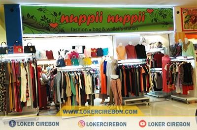 Lowongan kerja Pelayan Toko Nuppii Nuppii CSB Mall