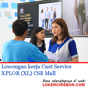 Cust Service XPLOR (XL)