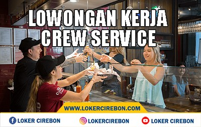 Lowongan kerja Crew Service Cafe Sebelah