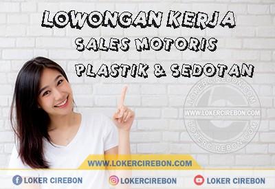 Sales Motoris Plastik & Sedotan