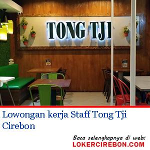 Staff Tong Tji Cirebon