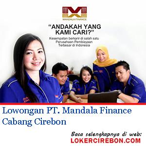 PT Mandala Finance Cabang Cirebon