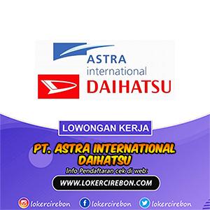 PT. Astra International Daihatsu Cirebon