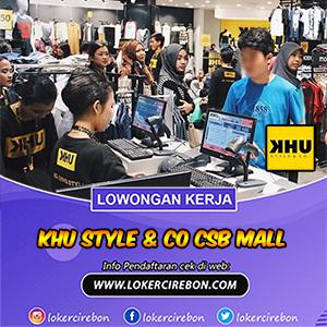 KHU Style & Co CSB Mall