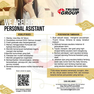 Personal Assistant Trusmi Group