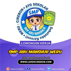 SMP Abu Manshur Weru Cirebon